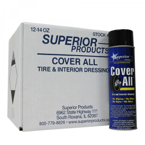 Cover All High-Gloss Tire Dressing (Aerosol) - Tire & Interior Dressing