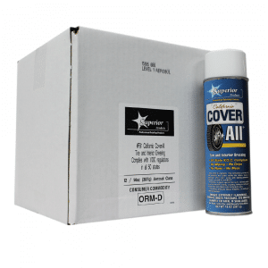 California Cover All High-Gloss Aerosol - Tire & Interior Dressing