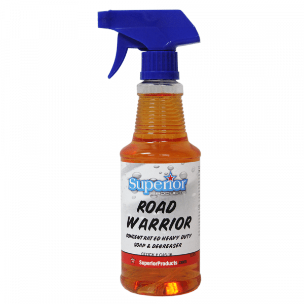 Road Warrior is a versatile soap/degreaser with more uses than most.