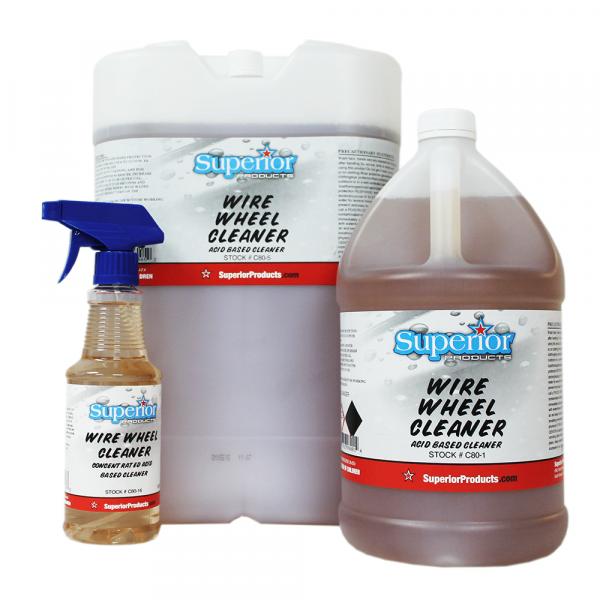 Wire Wheel Cleaner - Exterior