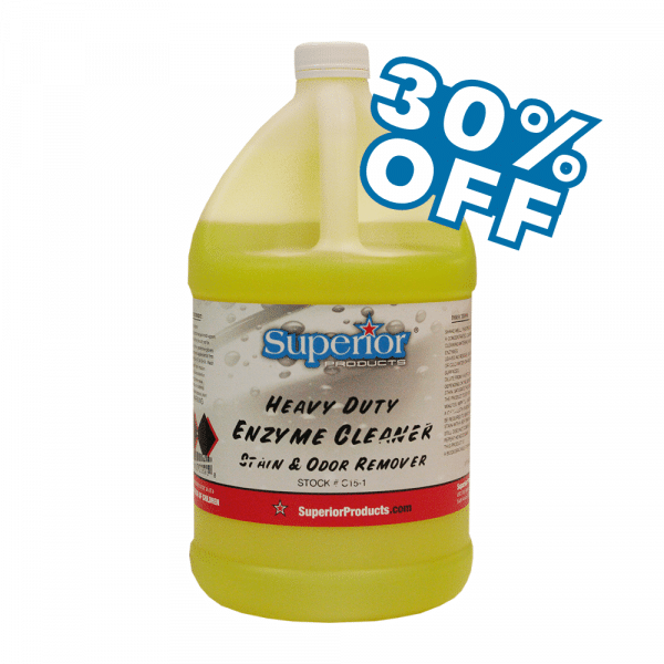 heavy enzyme cleaner