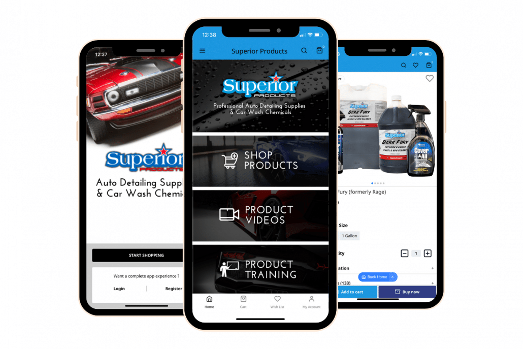 Superior Products Mobile App